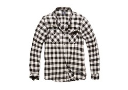 Vintage Industries Harley Shirt White Check Heren