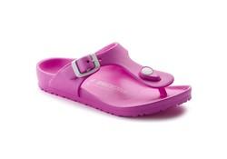 Birkenstock Gizeh EVA Neon Pink Slippers Kids