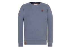 First Blood Blauw-Grijs Sweatshirt Heren