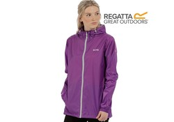 Regatta Pack It Jkt III Ultra Purple Regenjas Dames