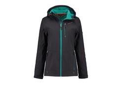 Life Line Krykje Turquoise Softshell Jacket Dames