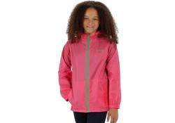 Regatta Kid Pack It III Hot Pink Regenjas