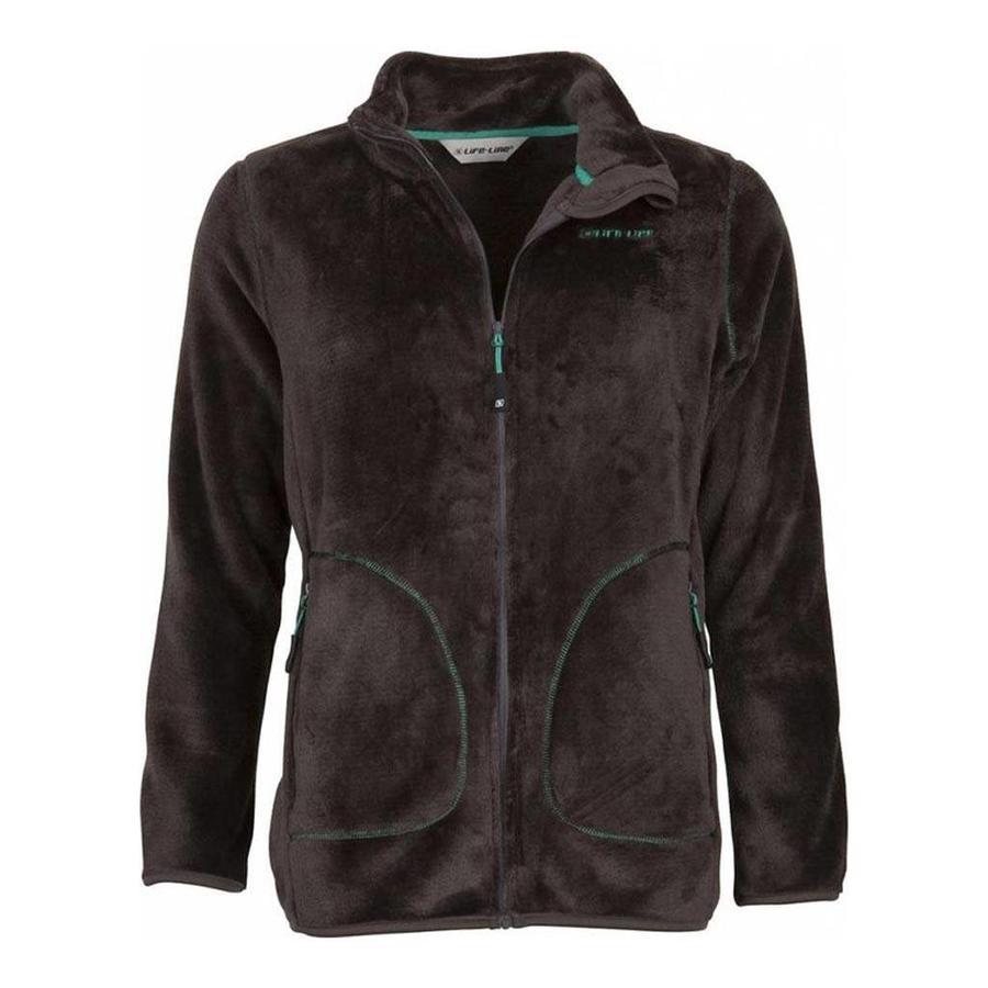 Pisona Dark Grey Fleece Jacket Dames