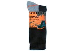 Gevavi Workwear GW80 Worker Light Zwart 2 Paar/Bundel Werksokken