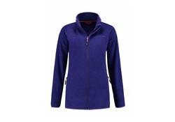 Life Line Varoy Purple Fleece Jack Dames