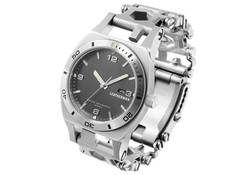 Leatherman Tread Tempo Stainless Horloge