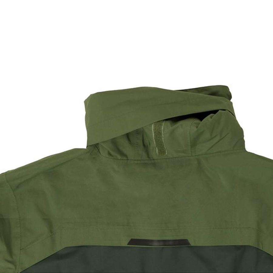 Section Army Green Regenjas Heren