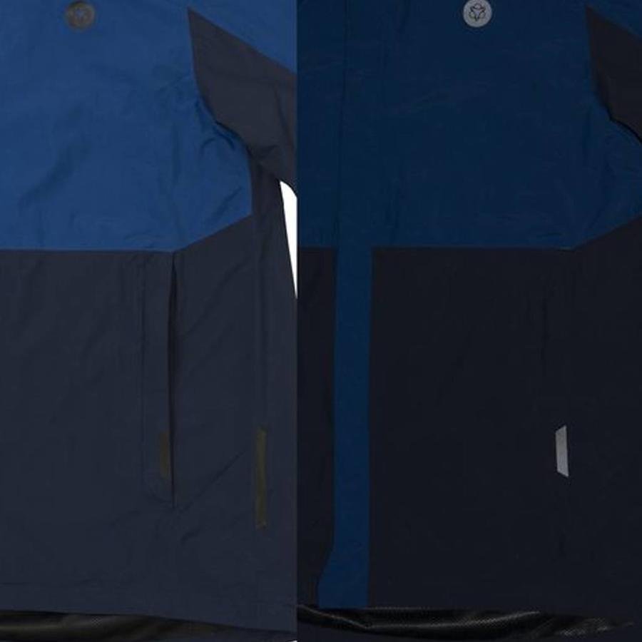 Section Navy/Blue Regenjas Heren