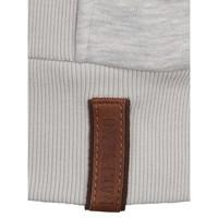 Birol Jeck Stone Grey Melange Sweatshirt Heren