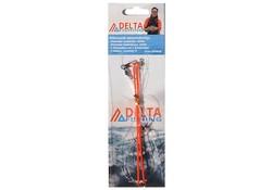 Delta Fishing 3-Haaks Zeevis Onderlijn Dwarrel/Afh.