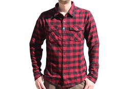 Vintage Industries Harley Shirt Red Check heren