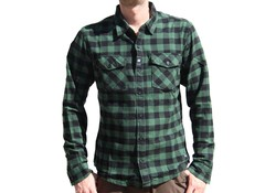Vintage Industries Harley Shirt Green Check Heren