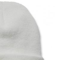 Acrylic Watch Beanie Winter White Uniseks