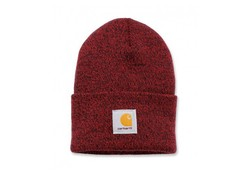 Carhartt Watch Hat Red Navy Muts Uniseks