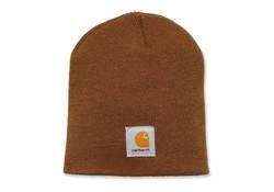 Carhartt Acrylic Knit Hat Bruin Muts Uniseks
