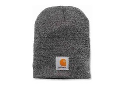 Carhartt Acrylic Knit Hat Coal Heather Muts Uniseks