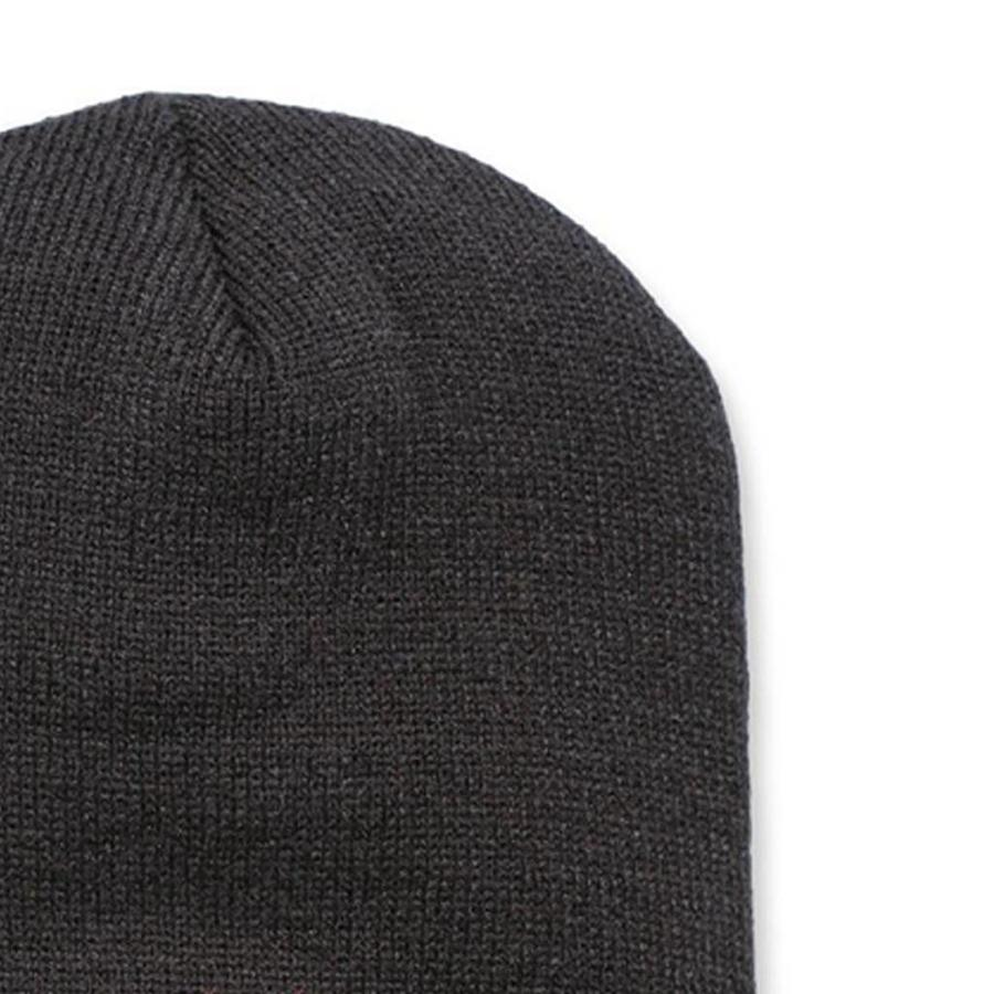 Acrylic Knit Hat Zwart Muts