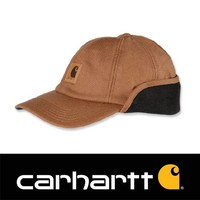 Stretch Fitted Earflap Cap Bruin Heren