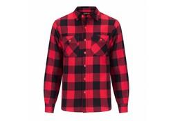 Life Line Joris Rood Gevoerd Overhemd Heren