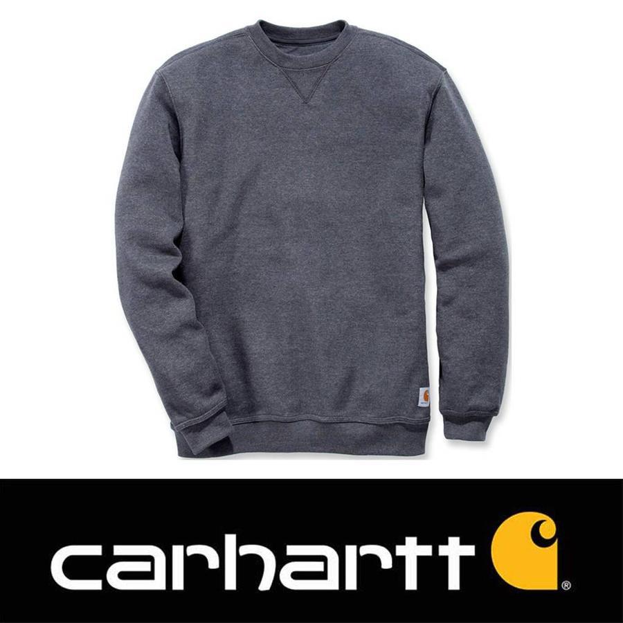 Midweight Crewneck Sweatshirt Carbon Heather Heren