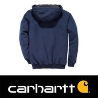 Sherpa-Lined Midweight Full-Zip Sweatshirt New Navy Heren