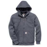 Rockland Quilt-Lined Hooded Sweatshirt Carbon Heather Heren