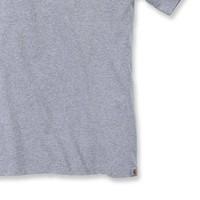 Core Logo Heather Grey T-Shirt Heren