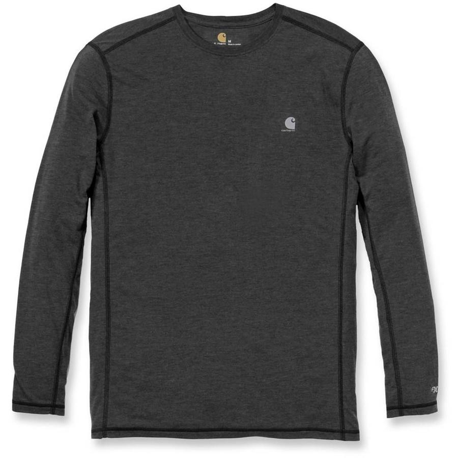 Force Extremes Long Sleeve Black Heather Shirt Heren