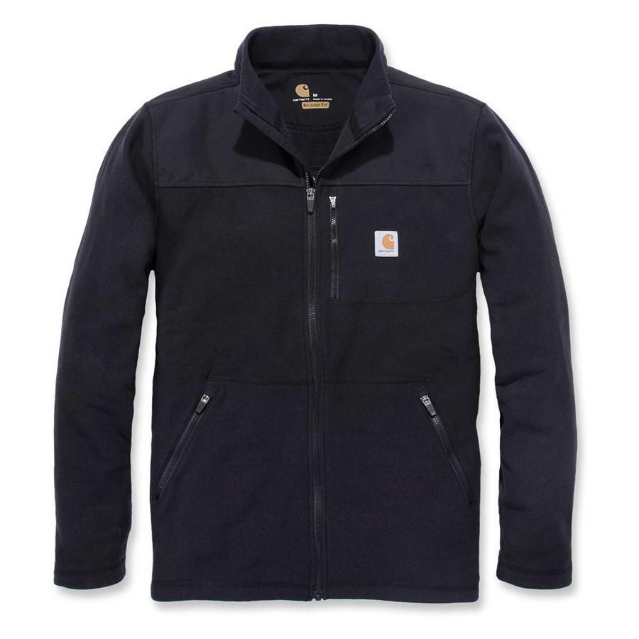 Fallon Full-Zip Sweatshirt Zwart Vest Heren