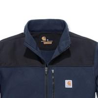 Fallon Full-Zip Sweatshirt Navy Vest Heren