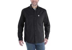 Carhartt Rugged Flex Rigby Long Sleeve Shirt Zwart Heren