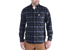Carhartt Hamilton Plaid Long Sleeve Shirt Dark Slate Shirt Heren
