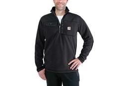 Carhartt Fallon Half-Zip Sweatshirt Zwart Vest Heren
