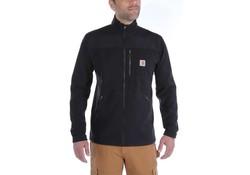 Carhartt Fallon Full-Zip Sweatshirt Zwart Vest Heren