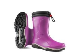 Dunlop K374061 Blizzard Roze Gevoerde Kinderlaarzen PVC