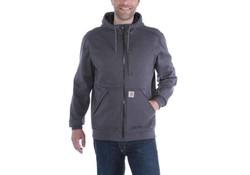 Carhartt Wind Fighter Hooded Sweatshirt Carbon Heather Heren