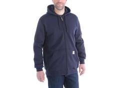Carhartt Midweight Zip Hooded Sweatshirt New Navy Heren