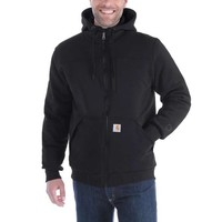 Rockland Quilt-Lined Hooded Sweatshirt Zwart Heren