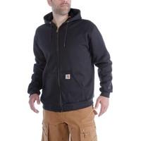 Carhartt Rutland Thermal Lined Zip Sweatshirt Zwart Heren