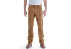 Carhartt Straight Fit Stretch Duck Dungaree Bruin Broek Heren