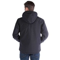 Carhartt Insulated Shoreline Jacket Zwart Regenjas Heren