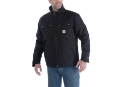 Carhartt Quick Duck Jefferson Traditional Jacket Zwart Winterjas Heren