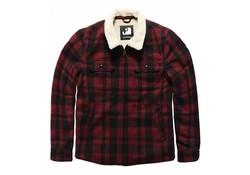 Vintage Industries Cavan Jacket Red Check Heren
