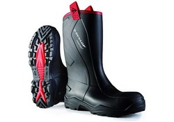 Dunlop Dunlop C76204.CH Purofort+ Rugged Zwart Laarzen Uniseks