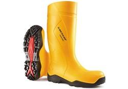 Dunlop C762241 S5 Purofort+ Geel Warmtelaarzen Uniseks