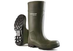 Dunlop C462933 S5 Purofort Groen Knielaarzen Uniseks