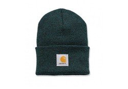 Carhartt Watch Hat Hunter Green Zwart Muts Uniseks