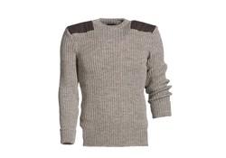 MGO Leisure Wear Vintage Trim Sweater Heather Mix Heren