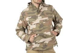 Brandit Windbreaker Light Woodland Camo Uniseks