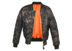 Brandit MA1 Camo Jacket Darkcamo Jas Heren